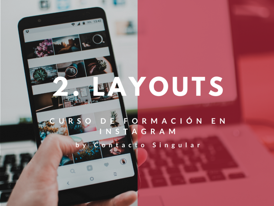 Curso sobre layouts de Instagram